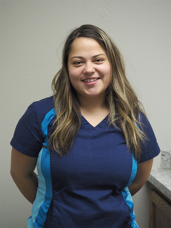 Maria, Receptionist